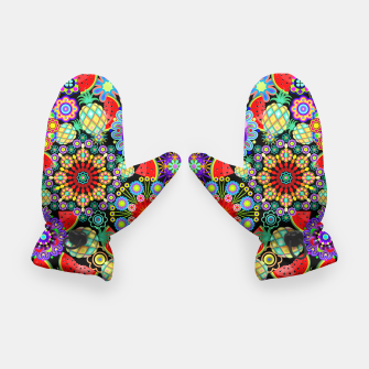 Thumbnail image of Mandalas and Exotic Fruits Pattern  Gloves, Live Heroes