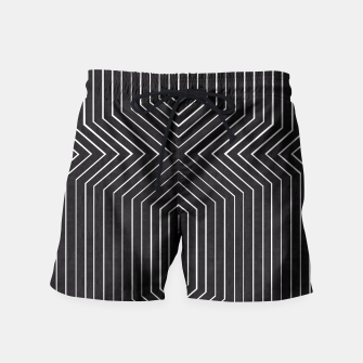 Miniaturka Modern contemporary art Swim Shorts, Live Heroes