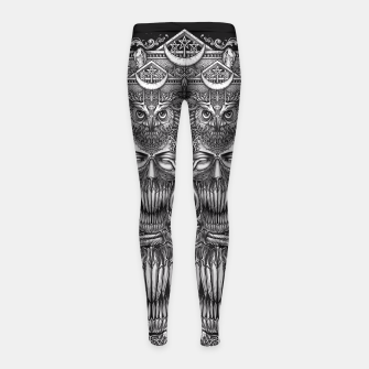 Thumbnail image of Winya No. 61 Girl's Leggings, Live Heroes