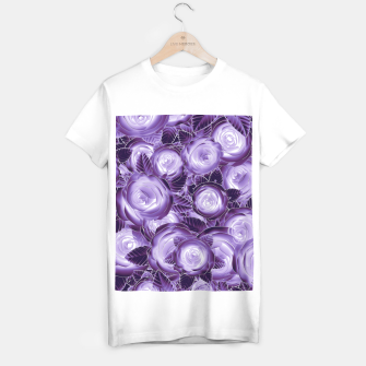 Purple Flush T-shirt regular Bild der Miniatur
