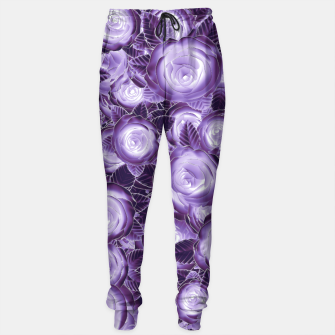 Purple Flush Sweatpants Bild der Miniatur