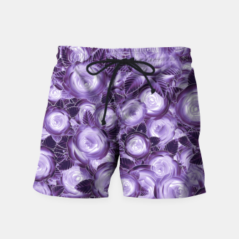 Purple Flush Swim Shorts Bild der Miniatur