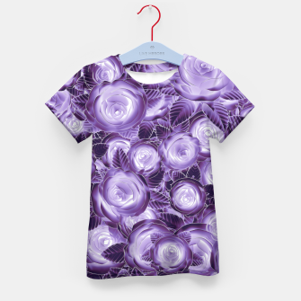 Purple Flush Kid's T-shirt Bild der Miniatur