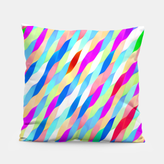 Thumbnail image of Colorful Algorithmic Pattern CP02  Coussin, Live Heroes