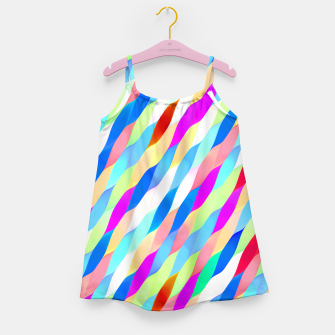 Thumbnail image of Colorful Algorithmic Pattern CP02  Robe de fille, Live Heroes