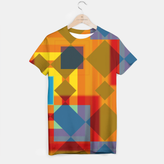 Thumbnail image of shadows and geometry T-shirt, Live Heroes
