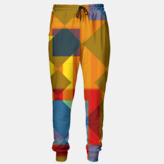 Thumbnail image of shadows and geometry Sweatpants, Live Heroes