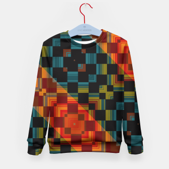 Thumbnail image of Black Out Kid's Sweater, Live Heroes