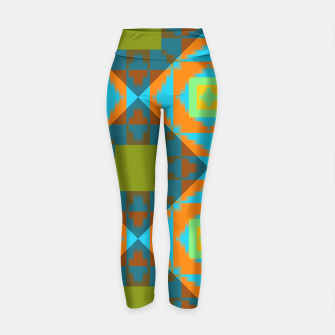 Thumbnail image of shadows of the past Yoga Pants, Live Heroes