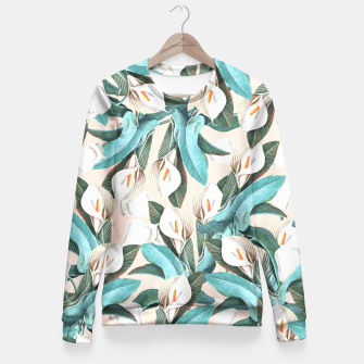 Thumbnail image of Floral Porn Fitted Waist Sweater, Live Heroes