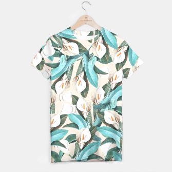 Thumbnail image of Floral Porn T-shirt, Live Heroes