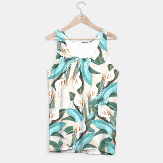Thumbnail image of Floral Porn Tank Top, Live Heroes