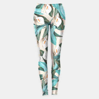 Thumbnail image of Floral Porn Leggings, Live Heroes