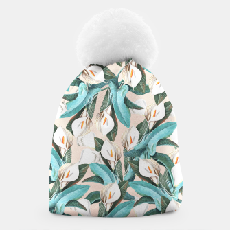 Thumbnail image of Floral Porn Beanie, Live Heroes