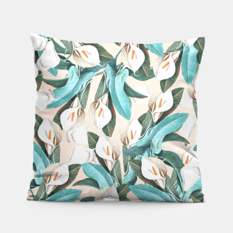 Thumbnail image of Floral Porn Pillow, Live Heroes