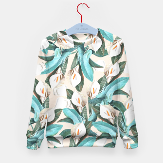 Thumbnail image of Floral Porn Kid's Sweater, Live Heroes