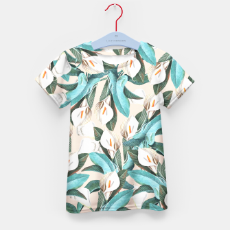 Thumbnail image of Floral Porn Kid's T-shirt, Live Heroes