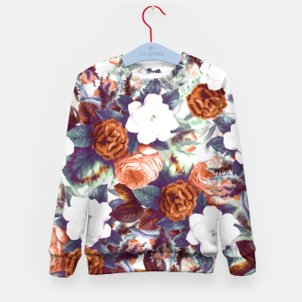 Thumbnail image of Floral Wonder Kid's Sweater, Live Heroes