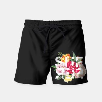 Thumbnail image of ѕυffєя FT Black Swim Shorts, Live Heroes