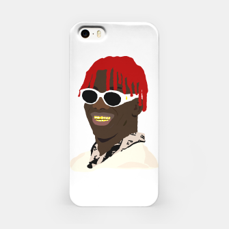 Miniatur lil yachty lil boat iPhone Case, Live Heroes