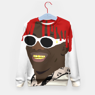 Miniatur lil yachty lil boat Kid's Sweater, Live Heroes