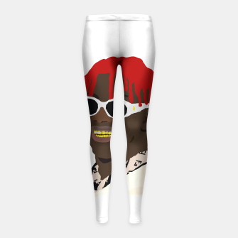 Miniatur lil yachty lil boat Girl's Leggings, Live Heroes