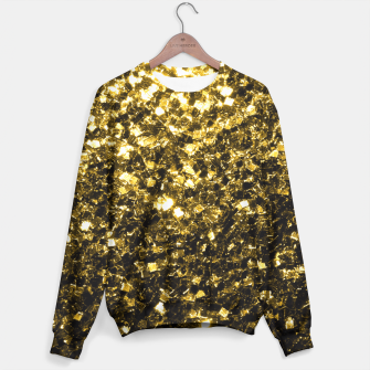 Thumbnail image of Beautiful Yellow Gold glitter sparkles  Sweater, Live Heroes