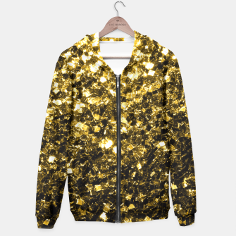 Miniaturka Beautiful Yellow Gold glitter sparkles  Hoodie, Live Heroes