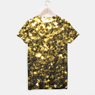 Thumbnail image of Beautiful Yellow Gold glitter sparkles  T-shirt, Live Heroes