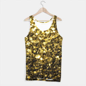 Thumbnail image of Beautiful Yellow Gold glitter sparkles  Tank Top, Live Heroes