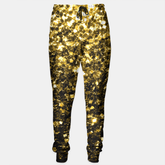 Thumbnail image of Beautiful Yellow Gold glitter sparkles  Sweatpants, Live Heroes