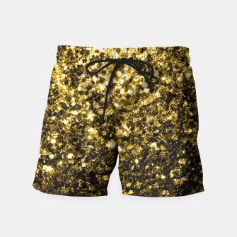 Thumbnail image of Beautiful Yellow Gold glitter sparkles  Swim Shorts, Live Heroes