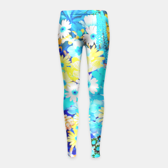 Miniaturka Floral dream Girl's Leggings, Live Heroes