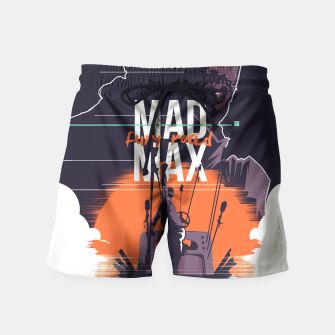 Thumbnail image of mad max Swim Shorts, Live Heroes