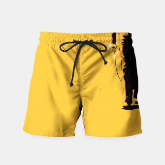 Thumbnail image of No country for old man Swim Shorts, Live Heroes