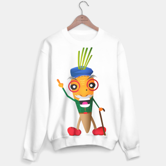Thumbnail image of Grumpy carrot Sweater, Live Heroes