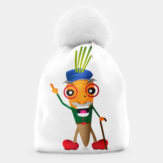 Thumbnail image of Grumpy carrot Beanie, Live Heroes