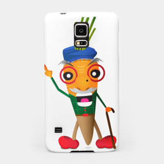Thumbnail image of Grumpy carrot Samsung Case, Live Heroes