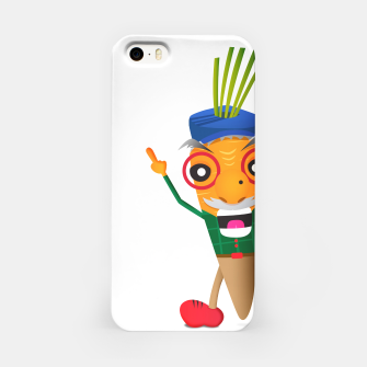 Thumbnail image of Grumpy carrot iPhone Case, Live Heroes