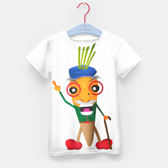 Thumbnail image of Grumpy carrot Kid's T-shirt, Live Heroes