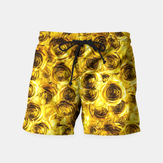 Miniatur Royal Flush Swim Shorts, Live Heroes