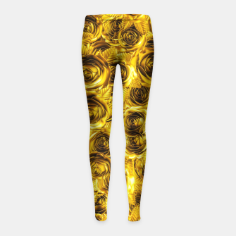 Miniatur Royal Flush Girl's Leggings, Live Heroes