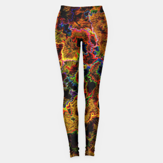 Thumbnail image of Rust Colorful  Legginsy, Live Heroes