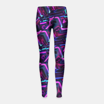 Thumbnail image of Below Girl's Leggings, Live Heroes