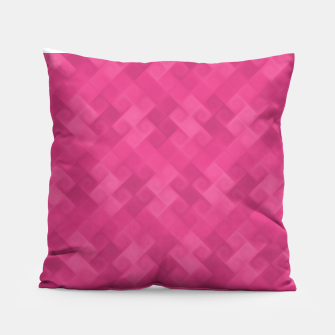 Thumbnail image of Purple Algorithmic Pattern Coussin, Live Heroes