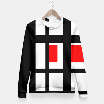 Thumbnail image of Windows Fitted Waist Sweater, Live Heroes