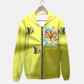 Thumbnail image of Peek-A-Boo to you Hoodie, Live Heroes