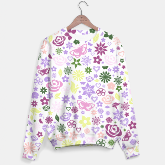 Thumbnail image of Seamless Fleurs Sweater, Live Heroes