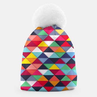 Thumbnail image of Colorful pattern and fashion Beanie, Live Heroes