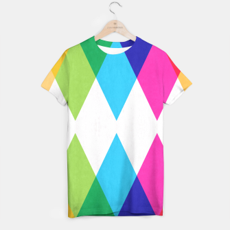 Thumbnail image of Colorful pattern and fashion T-shirt, Live Heroes